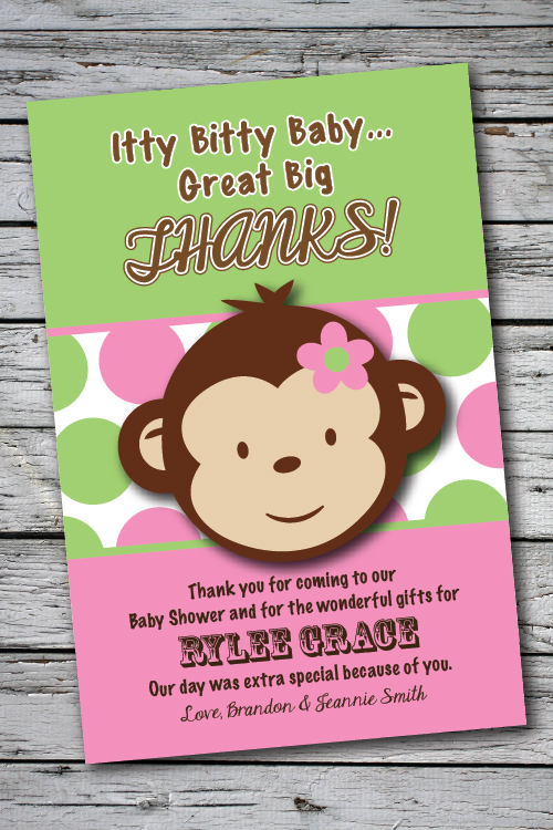 pics photos baby shower thank you quotes monkey funny
