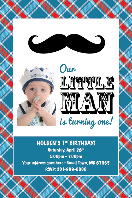 little man mustache printable st birthday party baby shower, Birthday invitations